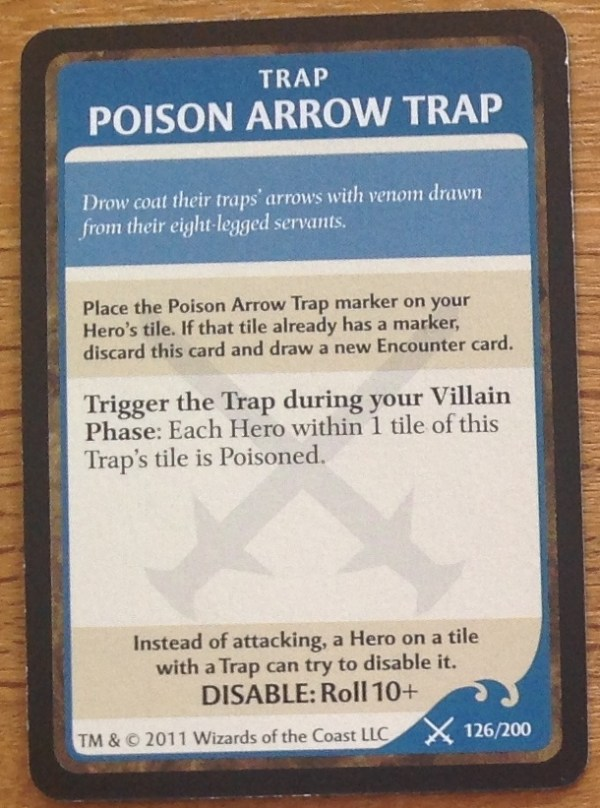 Poison Arrow Trap, Legend of Drizzt