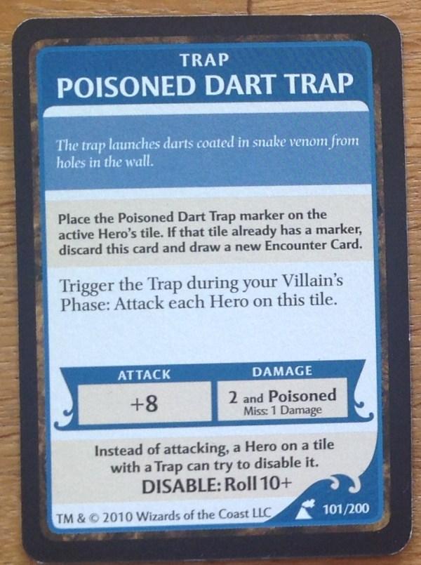 Poisoned Dart Trap, Wrath of Ashardalon