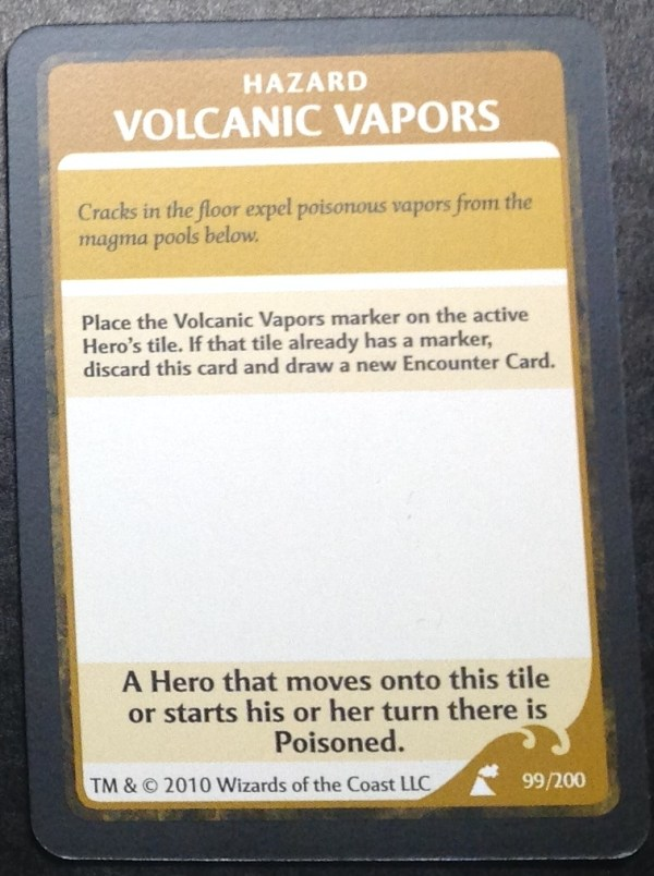 Volcanic Vapors, Wrath of Ashardalon