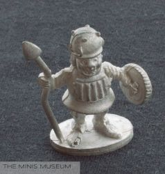 Grenadier Armored Idiot - The Minis Museum