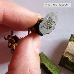 MinisMuseum-Old Bases Removal-cleaning almost complete