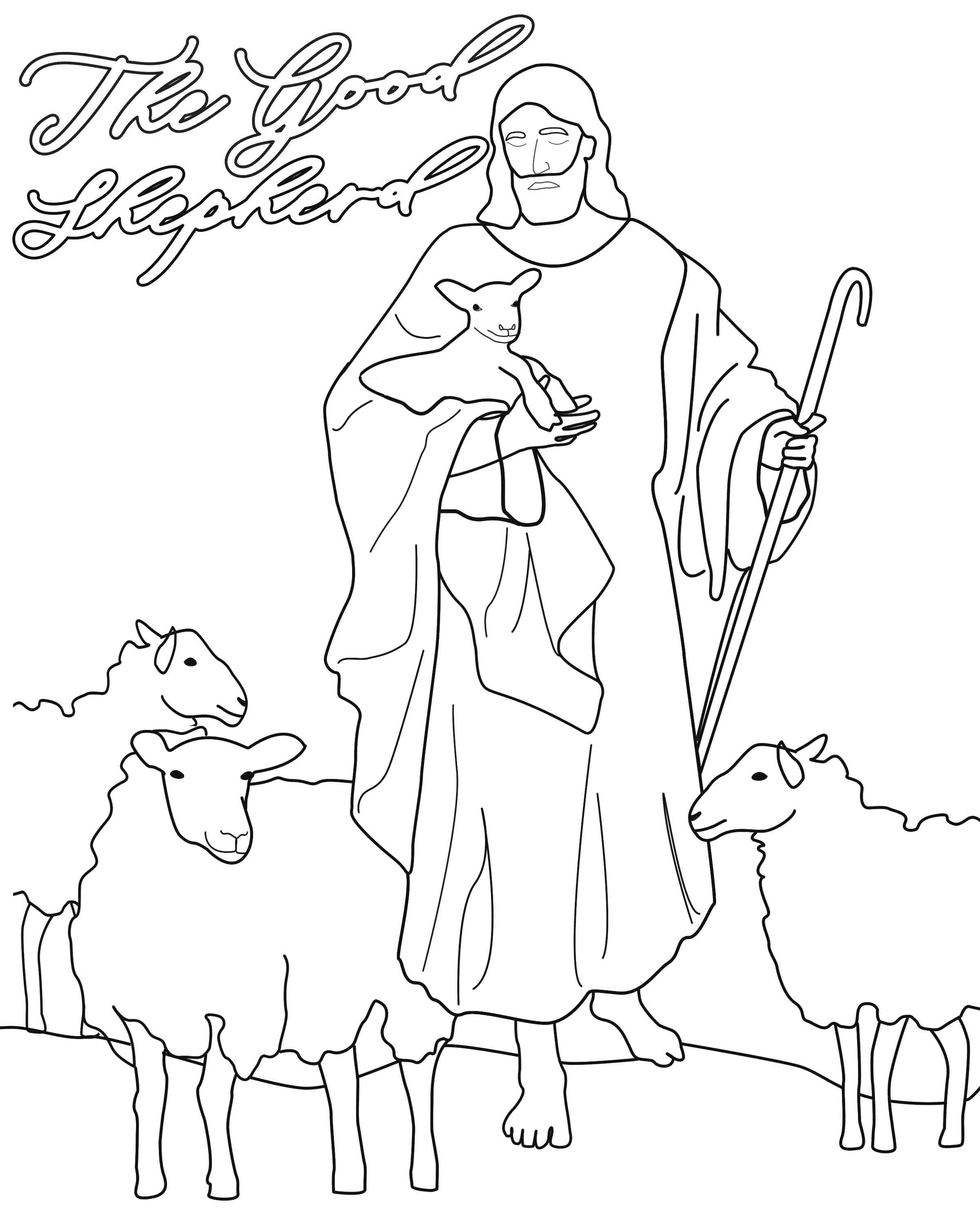 The Good Shepherd Story Come Follow Me April 29 May 5th