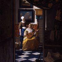 Jan Vermeer ... Der Liebesbrief