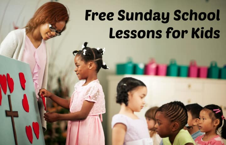 free sunday school lessons for 9 12 year olds