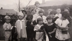 old photograph of children
