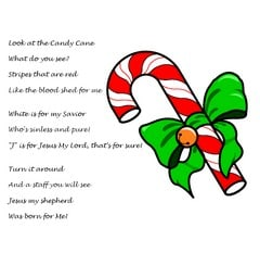 Candy Cane Poem About Jesus Ministry To Children Com