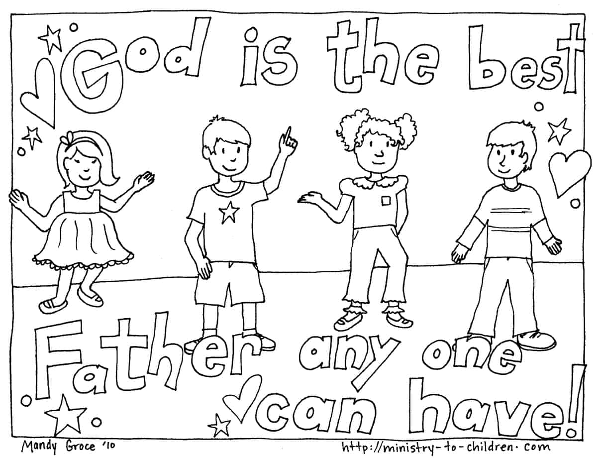 Father S Day Coloring Pages 100 Free Easy Print
