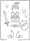 The Armor of God Pieces