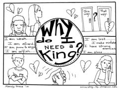 "Gospel Coloring Book ""Why do I need a King?"""