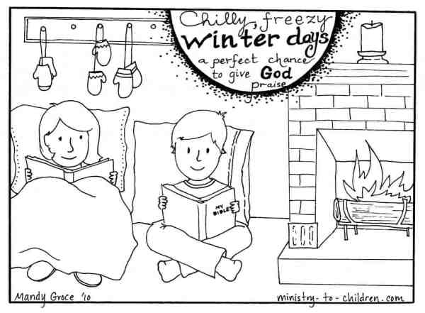 free printable winter coloring pages # 76