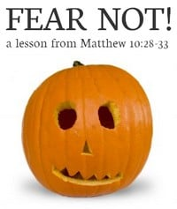 """Fear Not"" Bible lesson for kids"