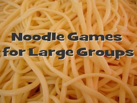 Noodle Game Ideas