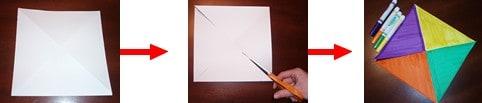 pinwheel craft how-to steps