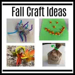 Fall craft ideas for Sunday School