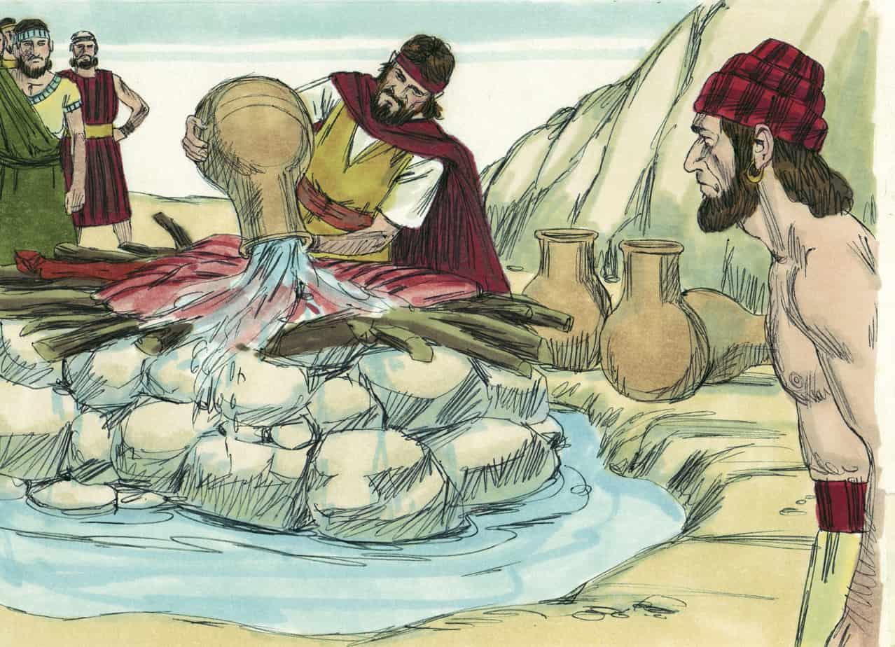 Elijah Confronts The False Prophets Sunday School Lesson