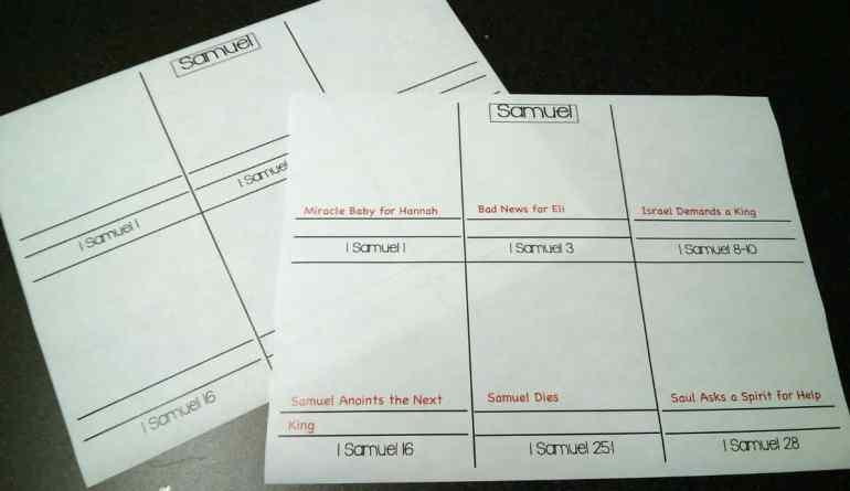 1-Samuel-worksheet