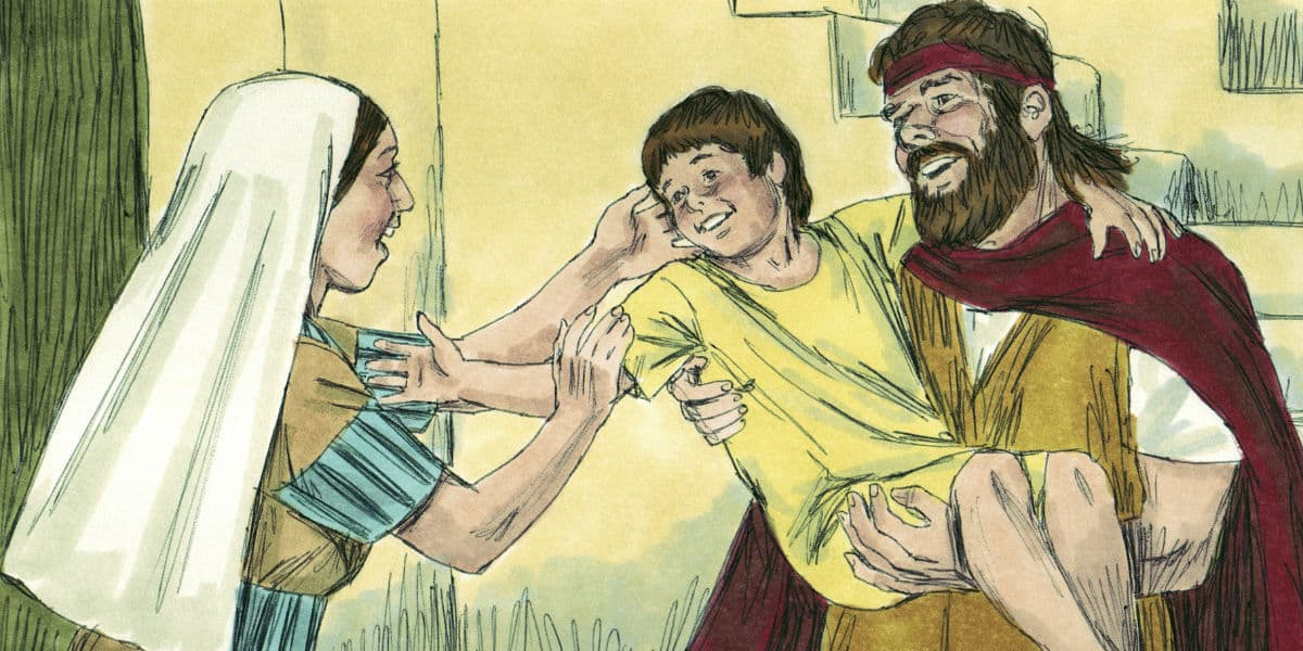 Bible Lesson: Elijah Heals the Widow's Son (1 Kings 17)