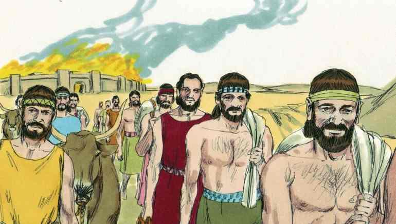 Joshua 8 Battle of Ai