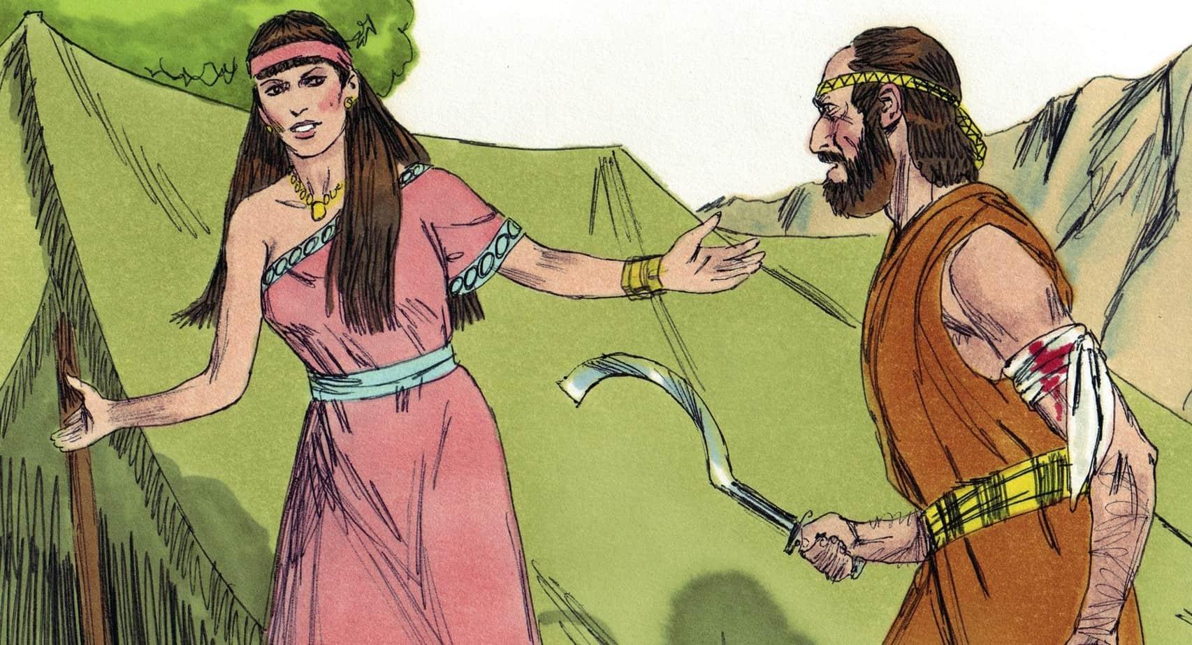 Bible Lesson Deborah And Barak Judges 4 5