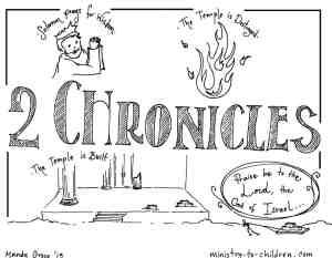 2 Chronicles Bible Book Printable