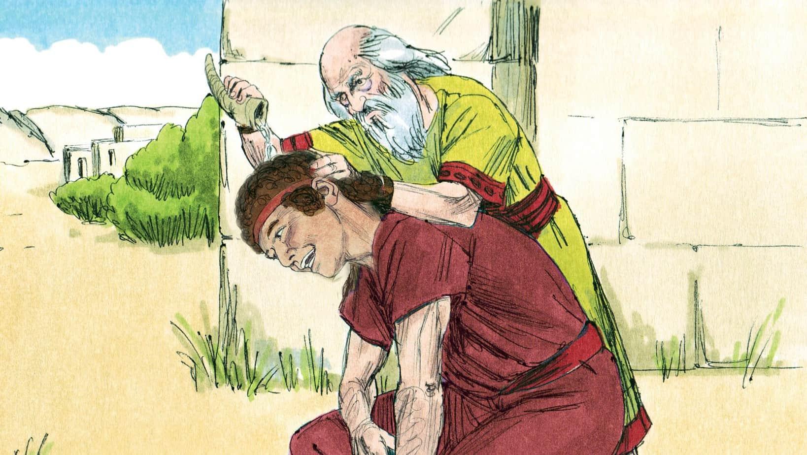 Bible Lesson Samuel Anoints The Shepherd Boy David
