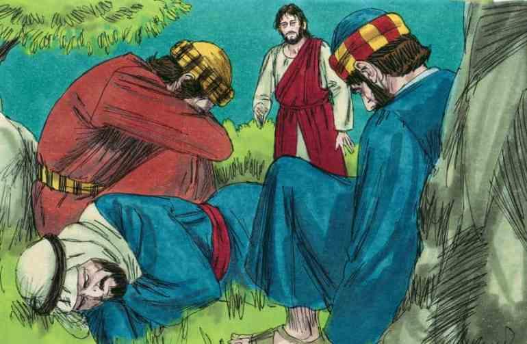 """Garden of Gethsemane"" Bible Skit for Children"