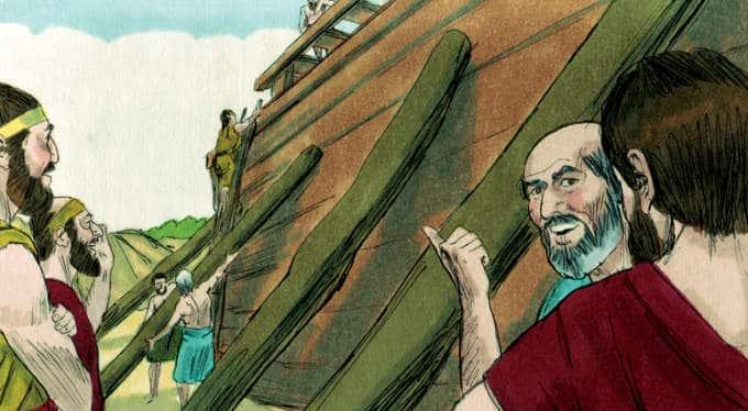 Noah Skit Part 1: Building the Ark
