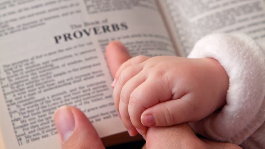 Proverbs Bible Lesson for children