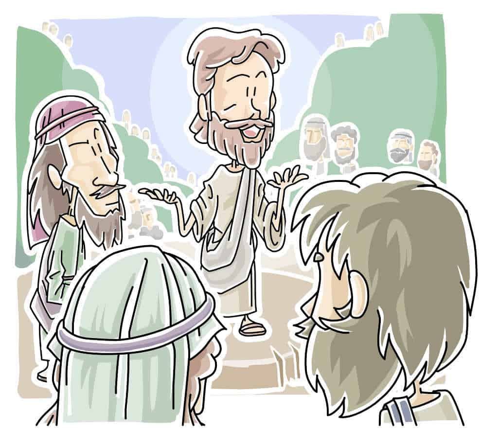 """Jesus Teaching, """"All About Love"""" Lectionary Lesson from Matthew 22:34-46"""
