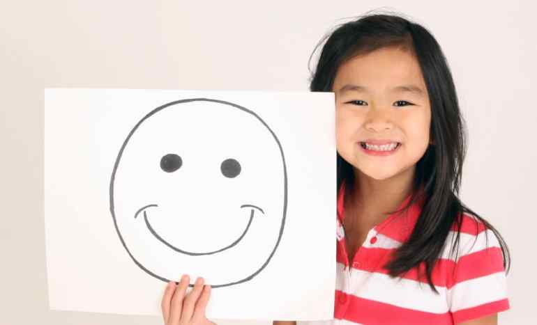 smiley face object lesson about God's love