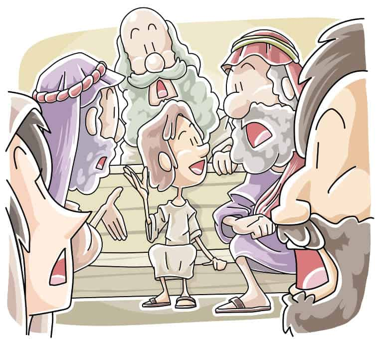 Sunday School Lesson: Boy Jesus in the Temple (Luke 2:41-52)