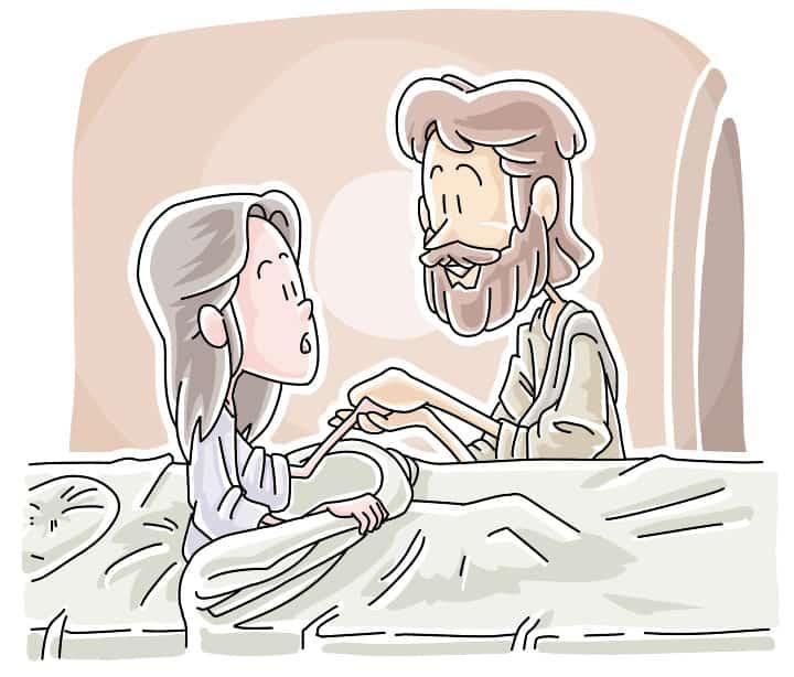 """""""I Believe"""" Mark 5:21-43 Sunday School Lesson - Jesus Raises Jairus's Daughter"""