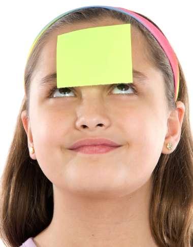 Post-It Note Treasure Hunt Idea for Kids Church