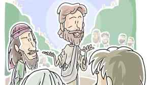 Jesus Teaching all about love