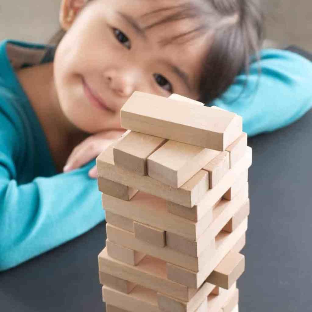 Game Idea: Jenga Stack Attack for Children's Ministry
