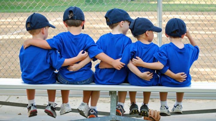 "Preschool Bible Lesson ""Being on God's Team"" John 16:33"