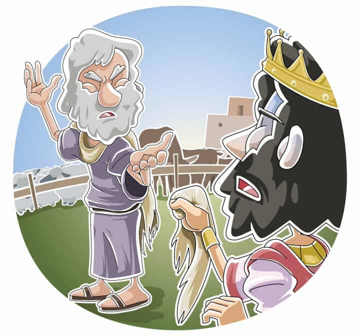 Saul Makes A Big Mistake (1 Samuel 13) Preschool Bible Lesson