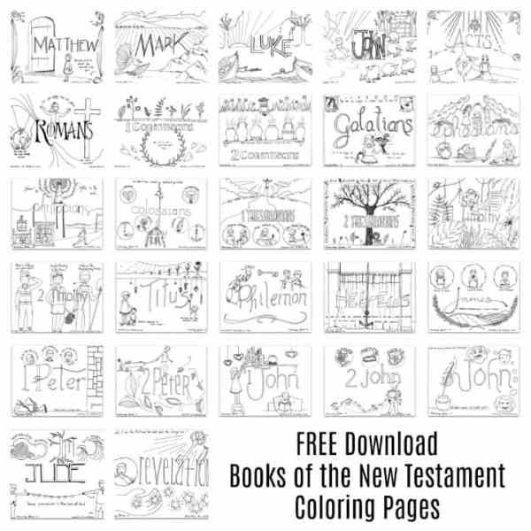 bible color pages # 23