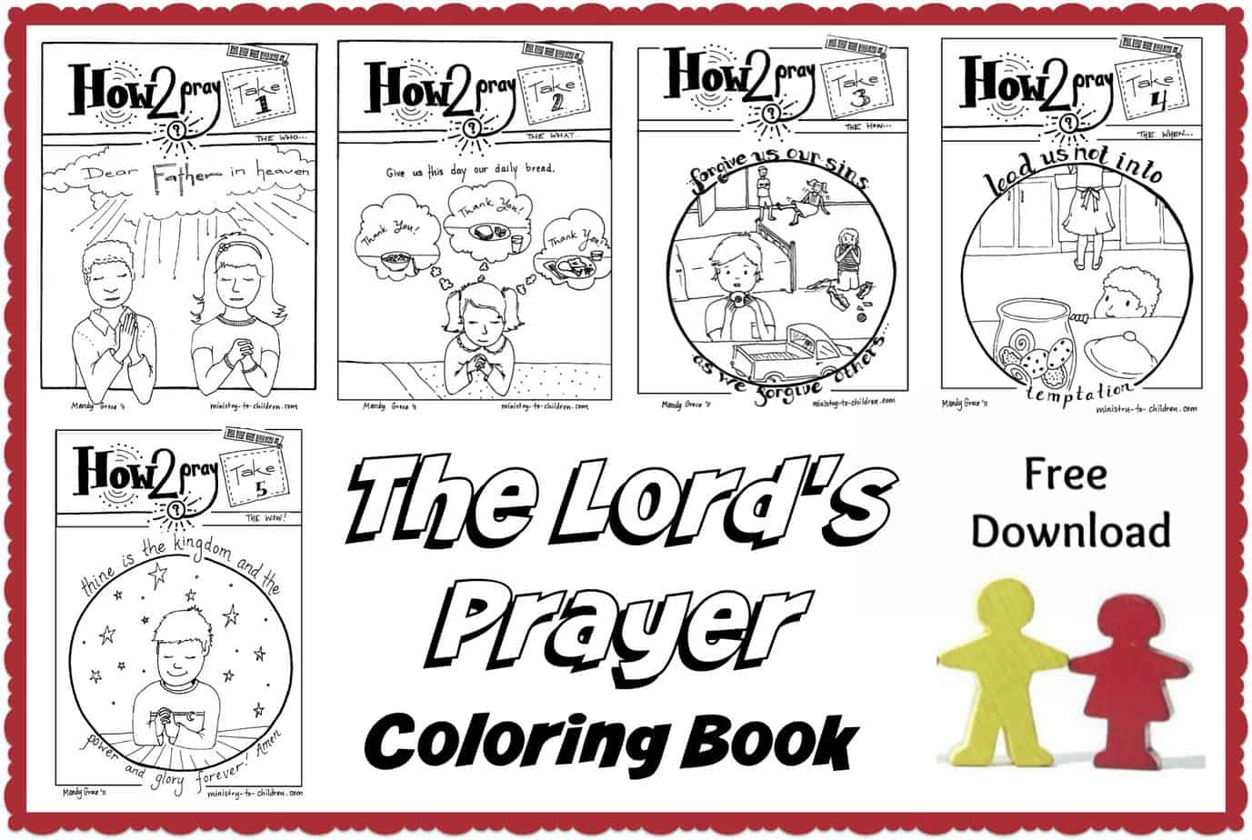 The Lord S Prayer For Kids