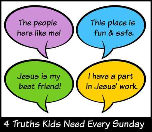 4 Truths Kids Need to Hear Every Sunday at Church