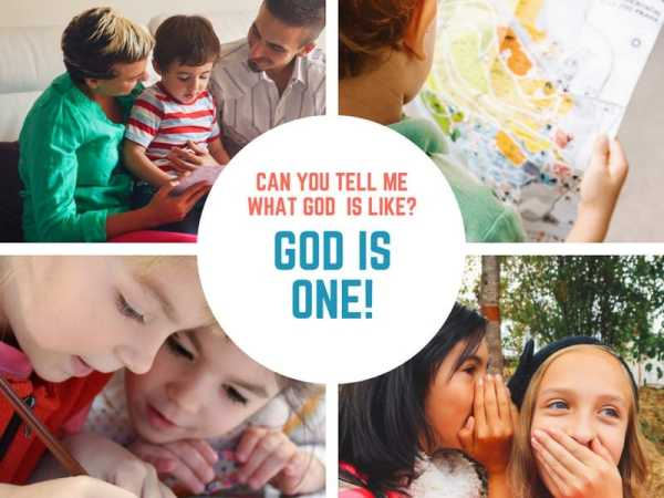 God is One (Acts 17) Lesson #27 in What is God Like?