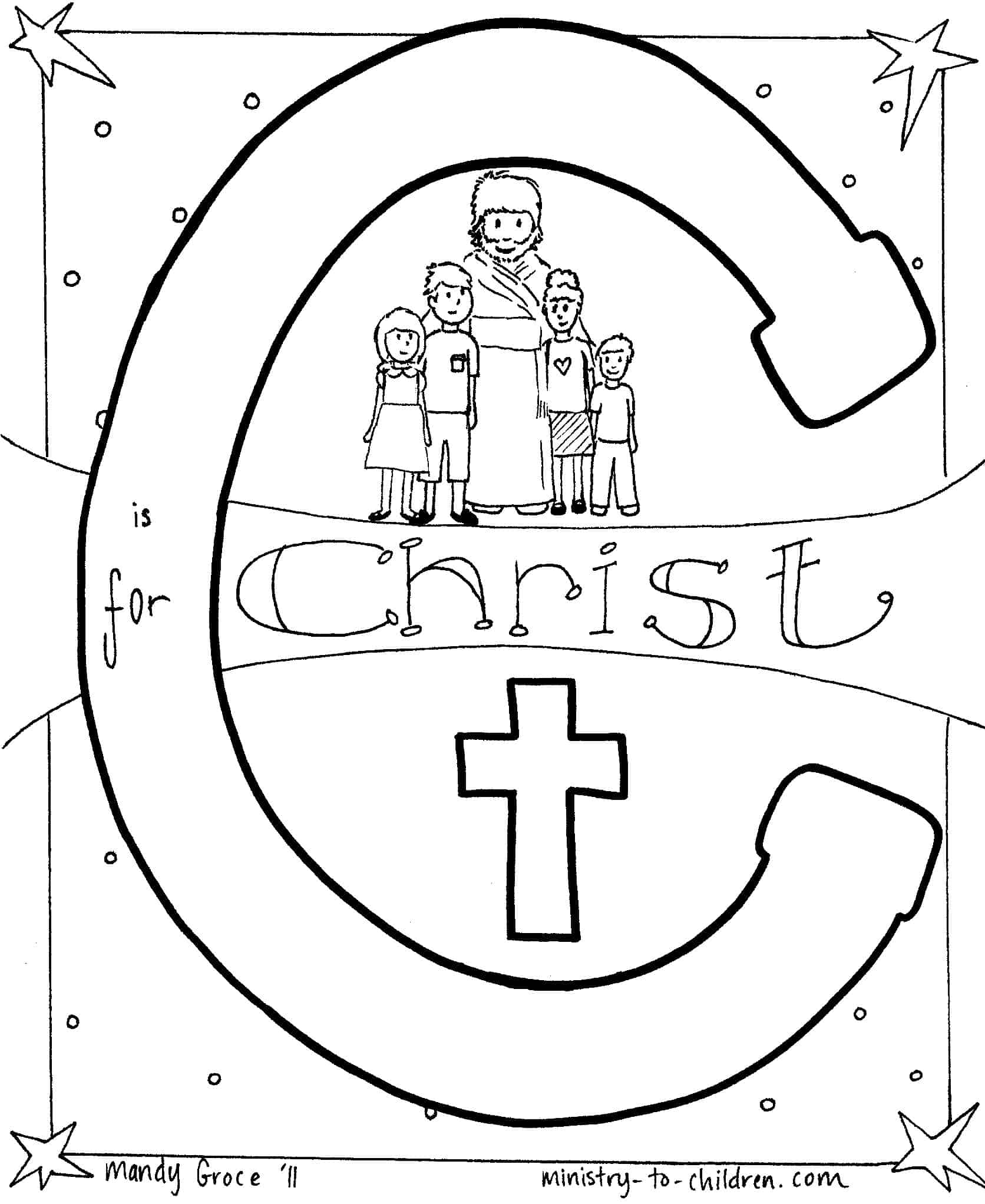 Jesus On Trial Coloring Page - Get Coloring Pages | 2044x1672