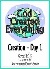 Story of Creation for Kids - Printable Book