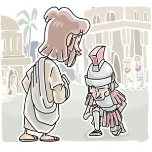 faith of the centurion luke 7:1-10 Sunday School Lesson