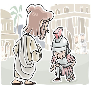 Luke 7:1-10 NIV The Faith of the Centurion