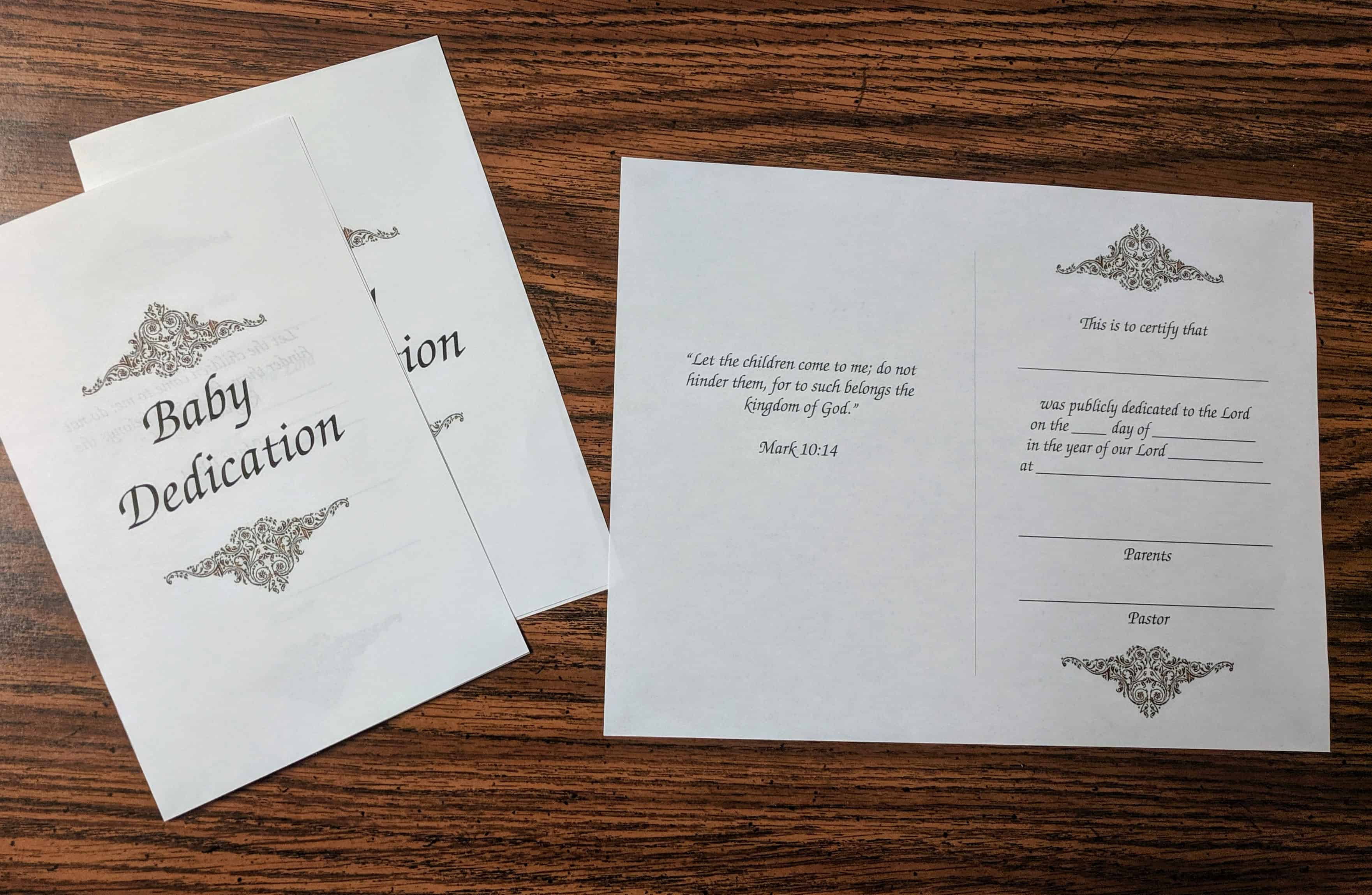 It is a photo of Free Printable Baby Dedication Certificates intended for child dedication