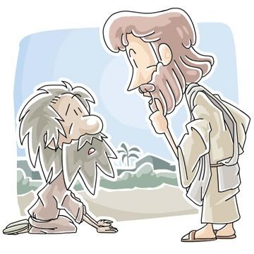 Jesus Heals 10 Lepers - Luke 17:11-17