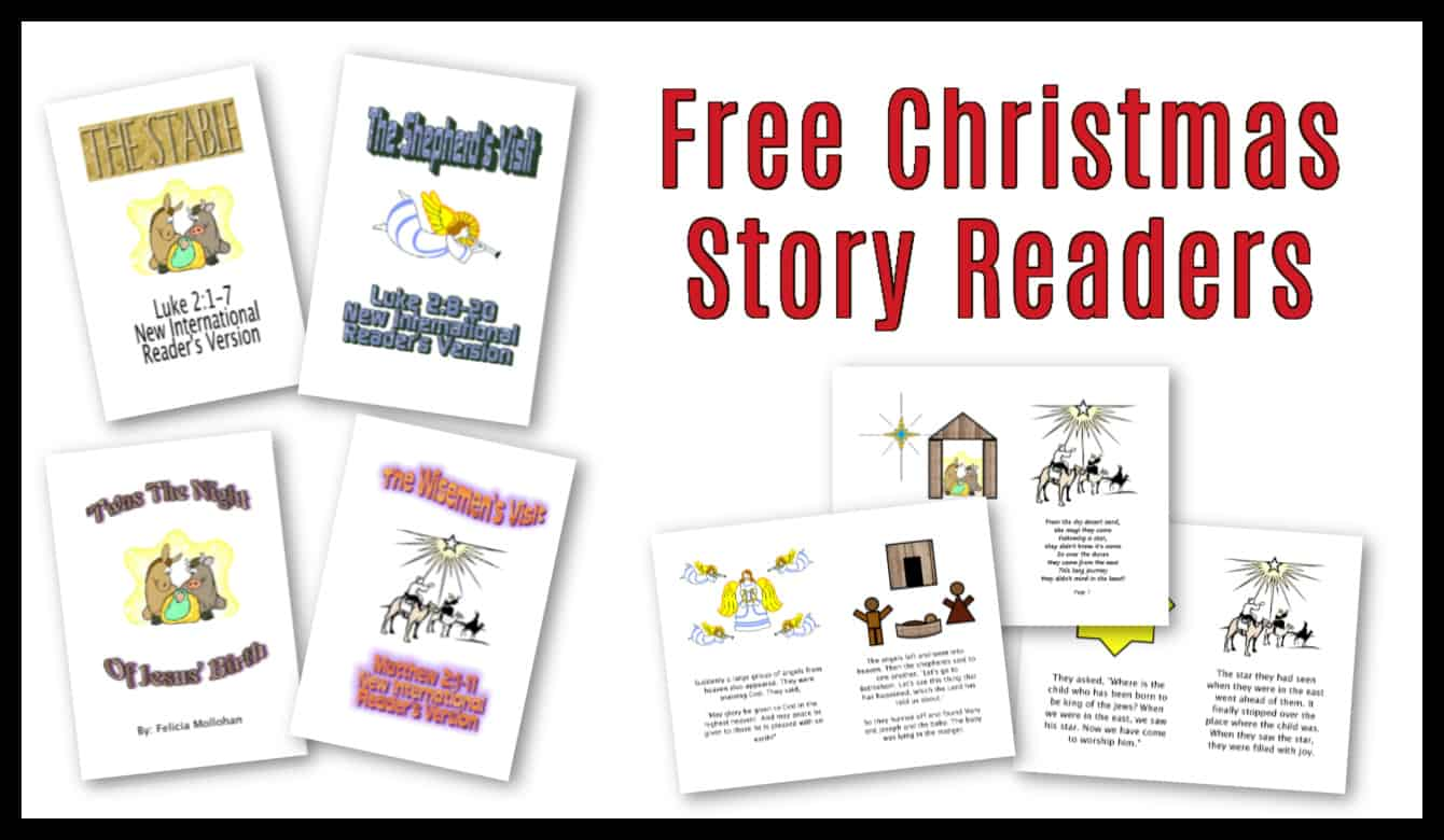 Story Of Christmas Printable Pdf Storybook About Jesus Birth Ministry To Children