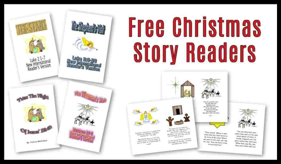 story of Christmas for children - printable pdf