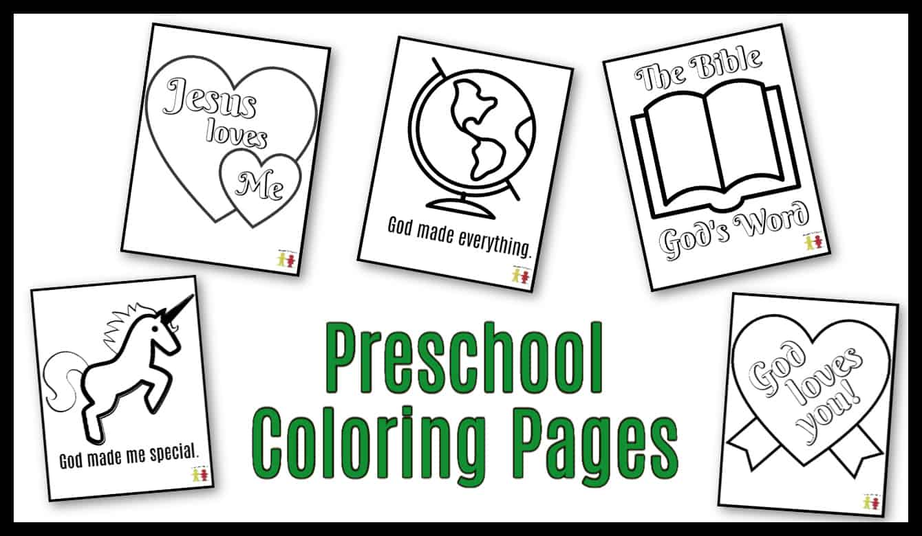 - Preschool Coloring Pages (Easy PDF Printables) Ministry-To-Children
